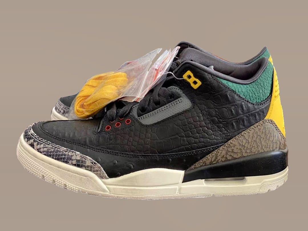 Air Jordan 3 Animal Instinct Release Date CK4344-001