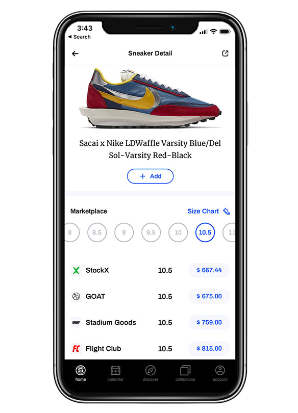 Sole Collector App