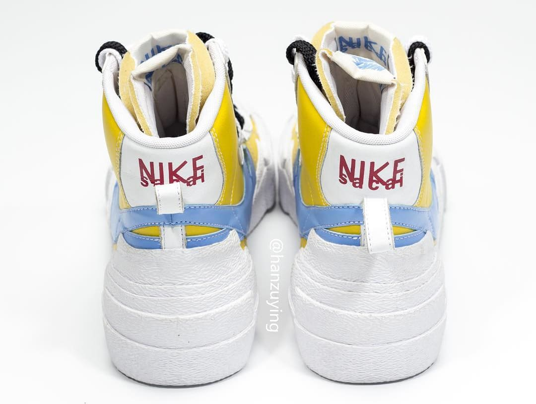 8b1e6d846ca3 Another Iteration of the sacai x Nike Blazer High Have Surfaced ...