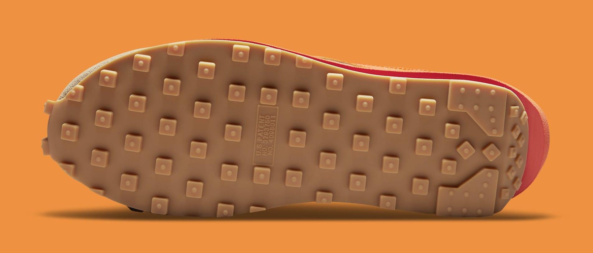 Sacai x Clot x Nike LDWaffle DH1347-100 Outsole