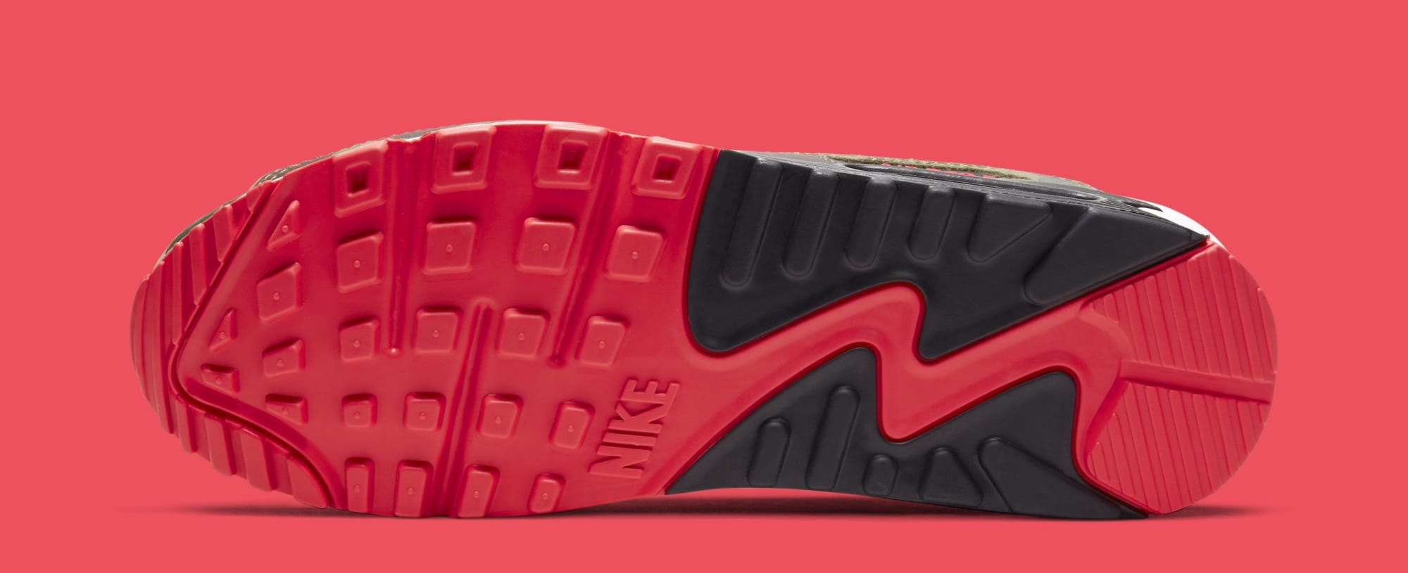 Nike Air Max 90 'Infrared Duck Camo' CW6024-600 (Sole)