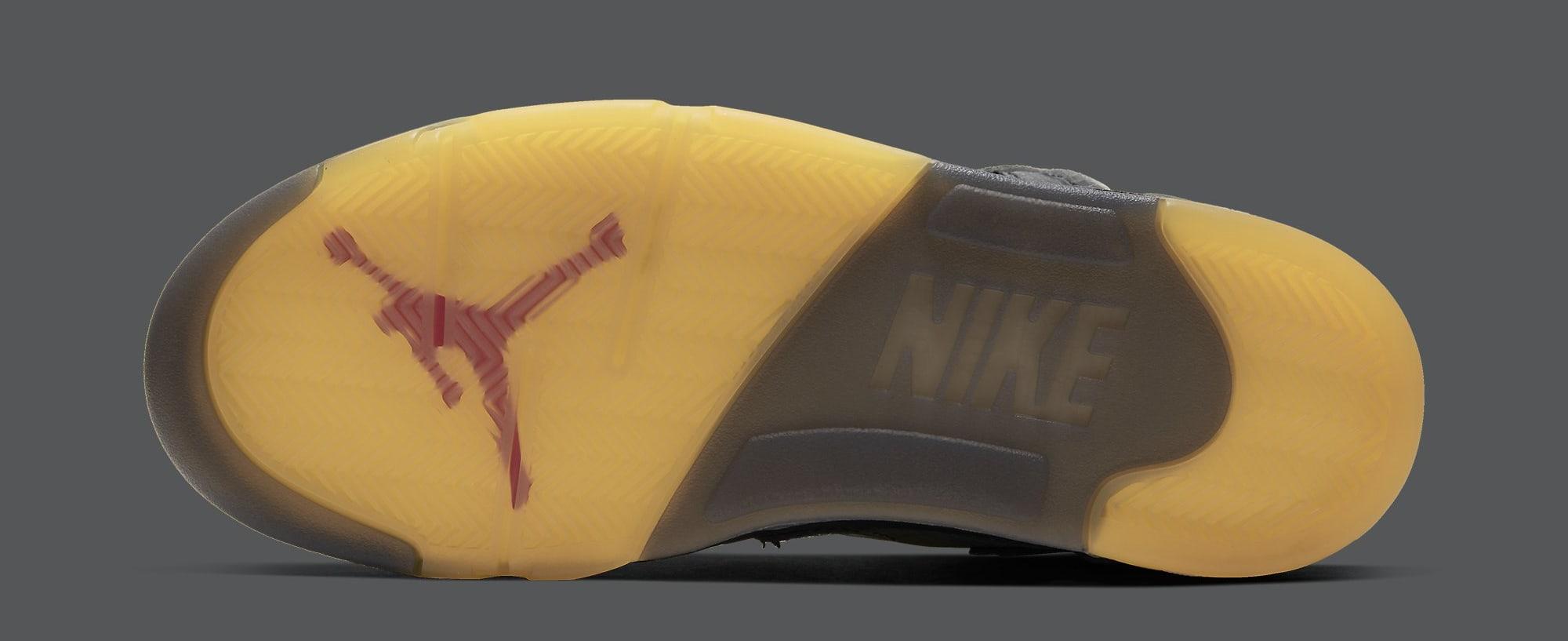 Off-White x Air Jordan 5 CT8480-001 (Sole)