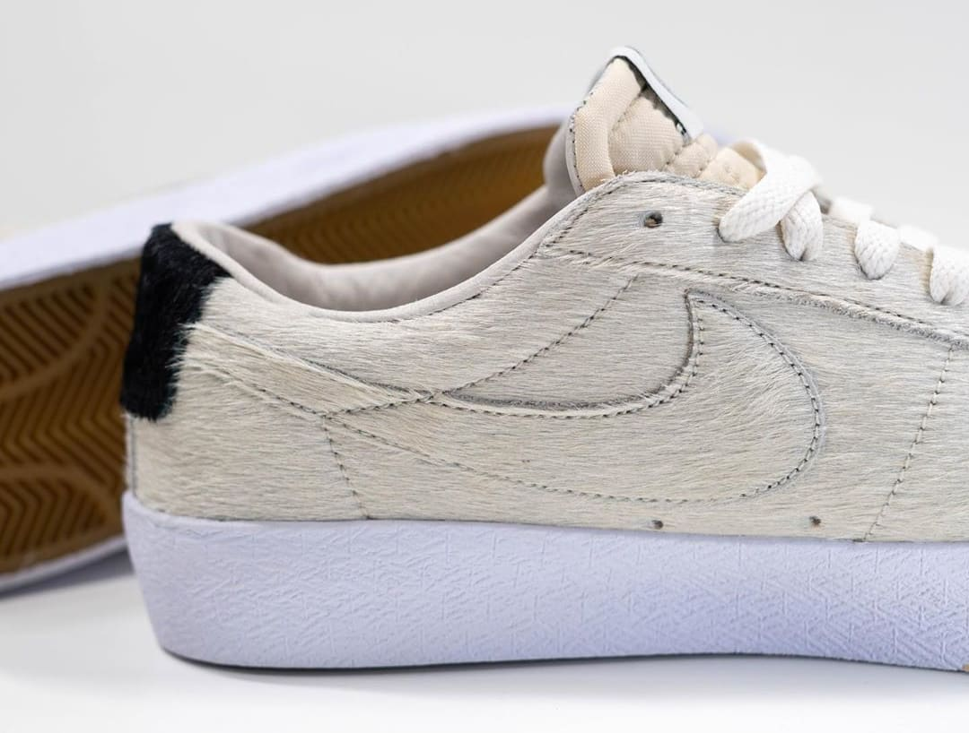 Medicom x Nike SB Blazer Low 'Be@rbrick' Sample CZ4620-200 Medial