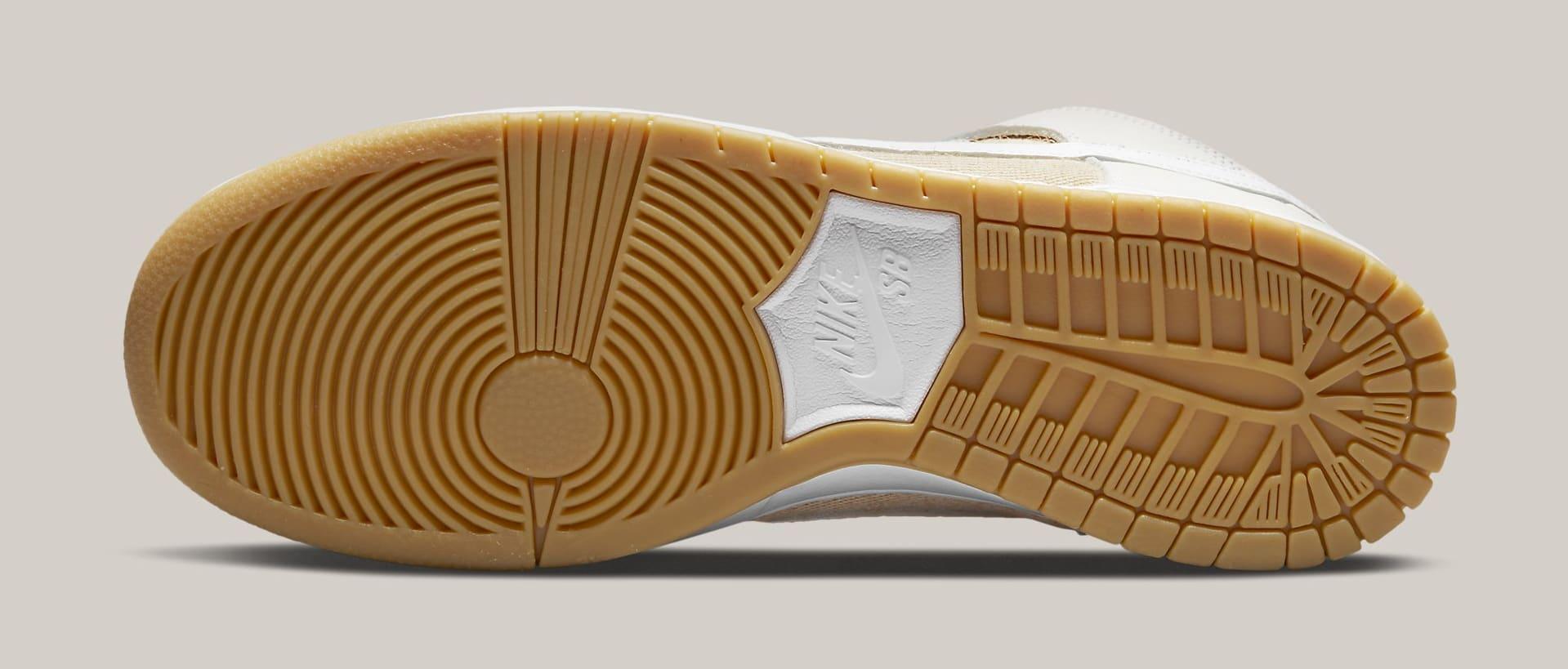 Nike SB Dunk High 'Unbleached' DA9626-100 Outsole