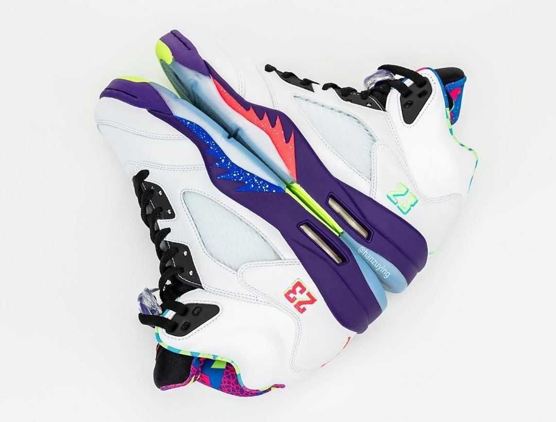 Air Jordan 5 V Fresh Prince Bel-Air Alternate Release Date DB3335-100 Side