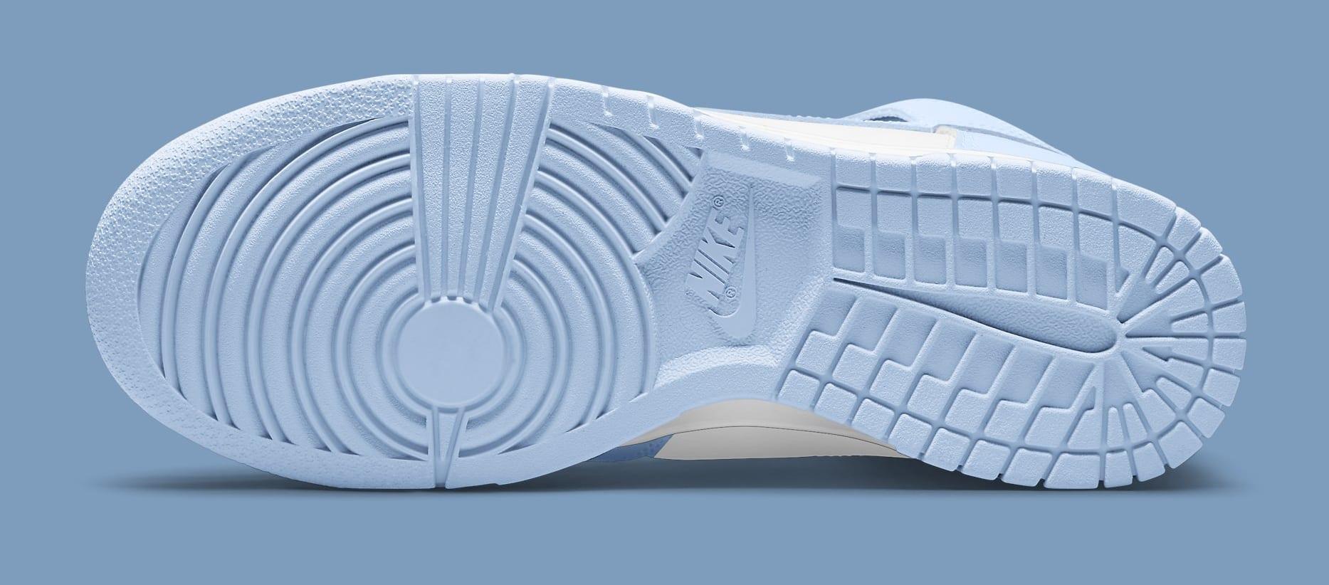 Nike Dunk High Women's 'Aluminum' DD1869-107 Outsole