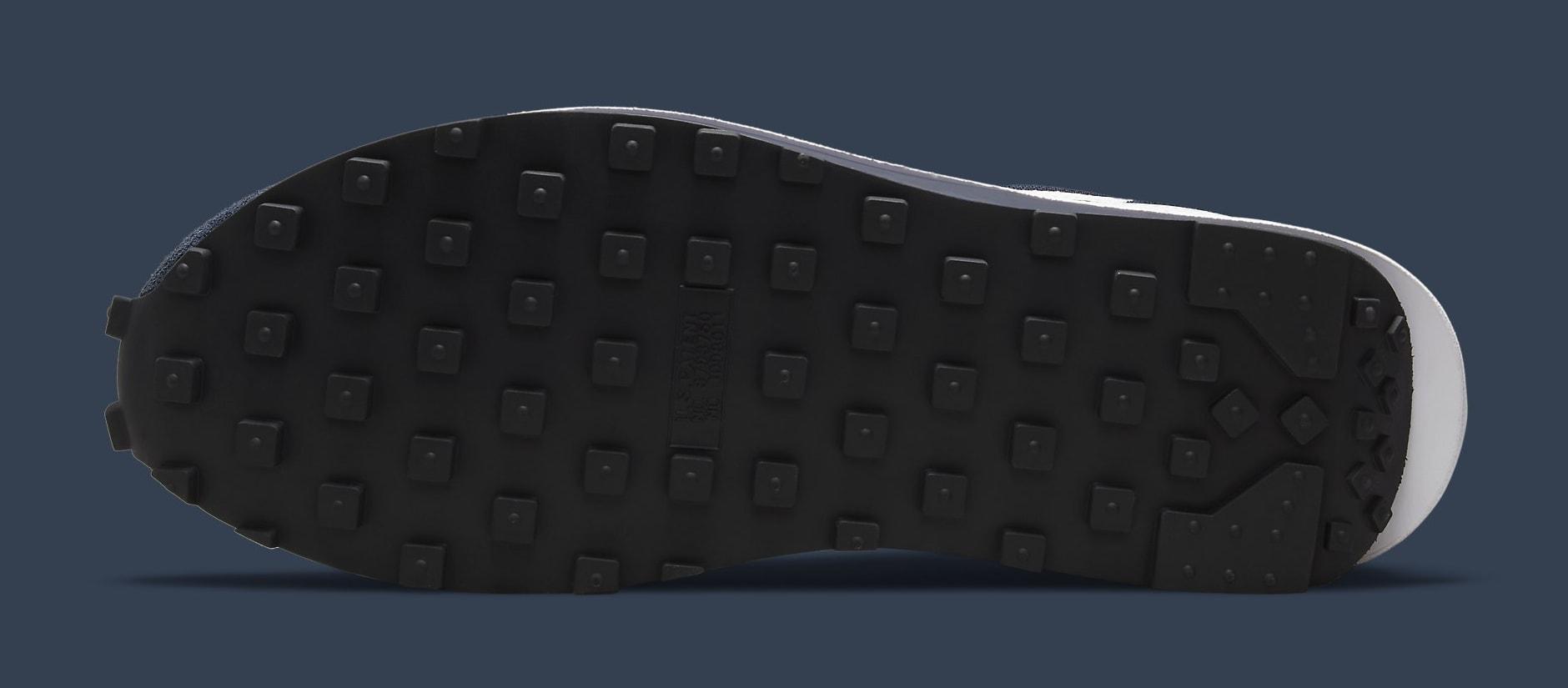 Fragment x Sacai x Nike LDWaffle 'Blackened Blue' DH2684-400 Outsole