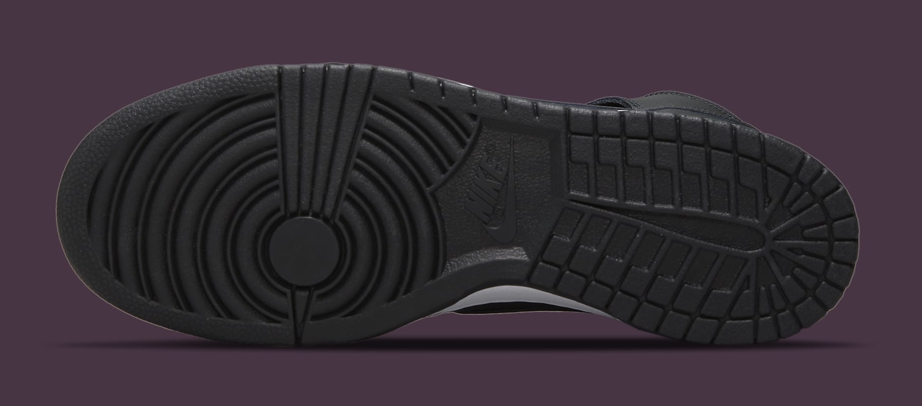 Fragment Design x Nike Dunk High 'Black' DJ0382-600 Outsole