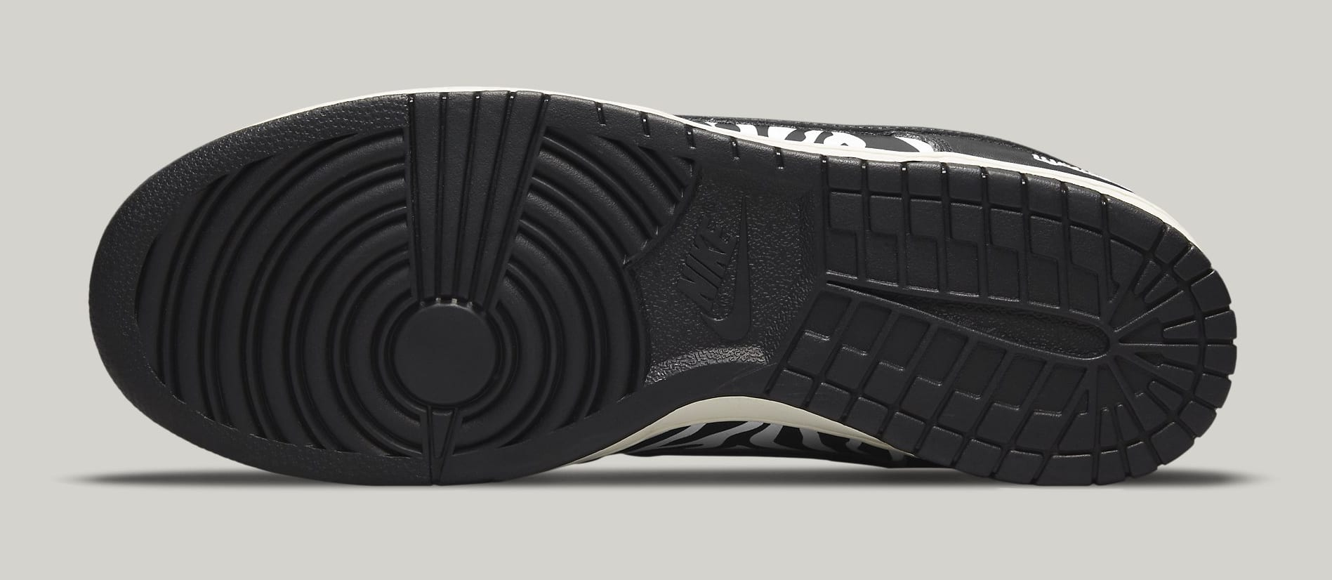 Quartersnacks x Nike SB Dunk Low DM3510-001 Outsole