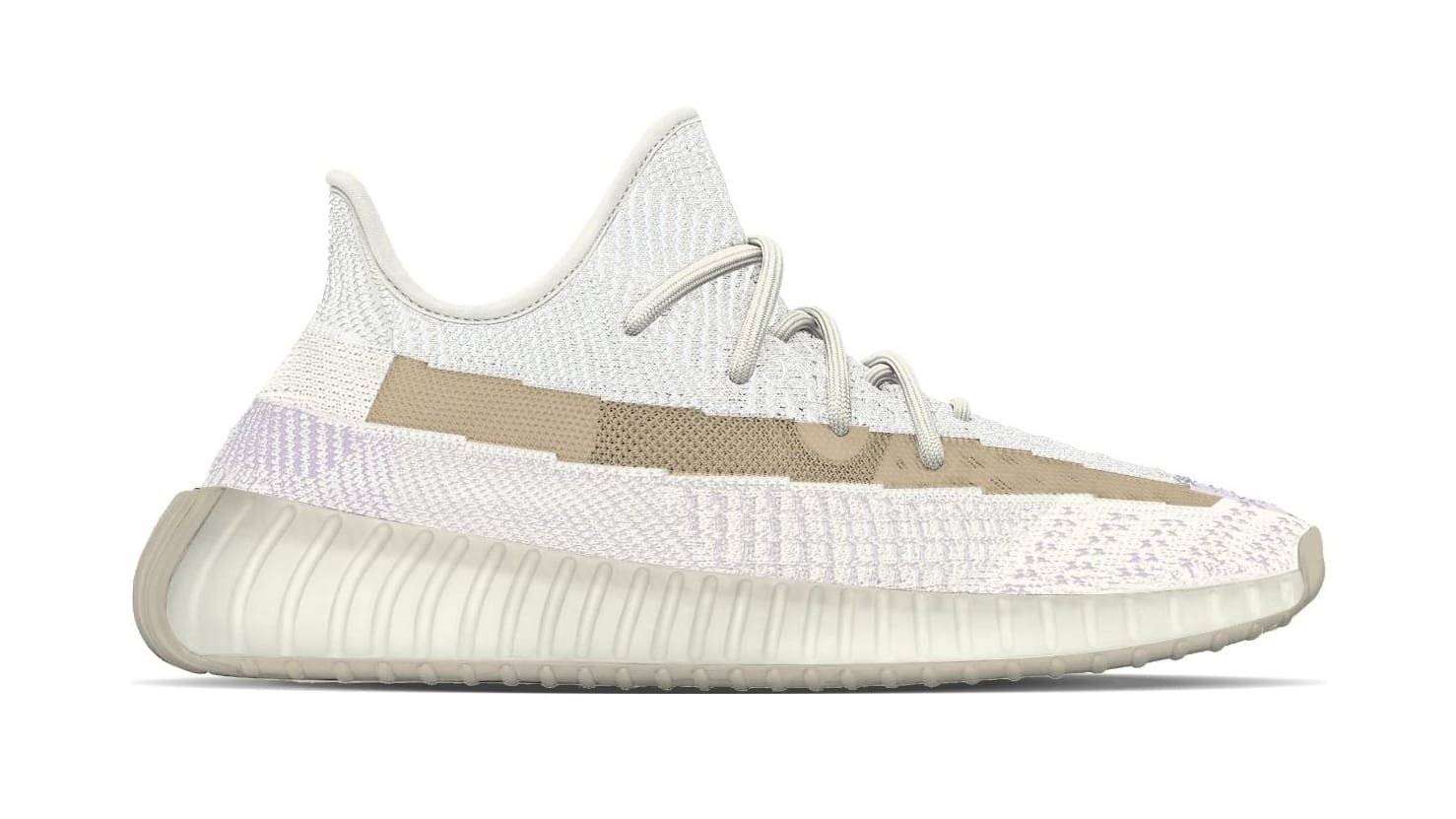 Adidas Yeezy Boost 350 V2 'Light' Lateral Mock-up