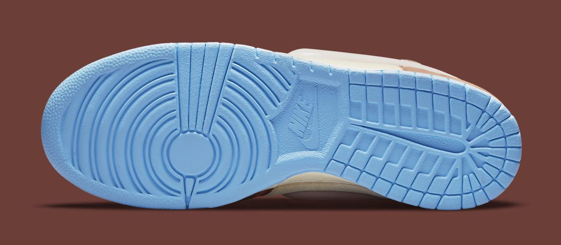 Social Status x Nike Dunk Mid DJ1173-700 Outsole