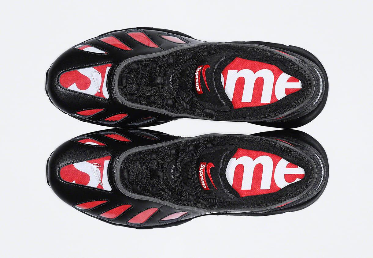 Supreme x Nike Air Max 96 'Black' Top
