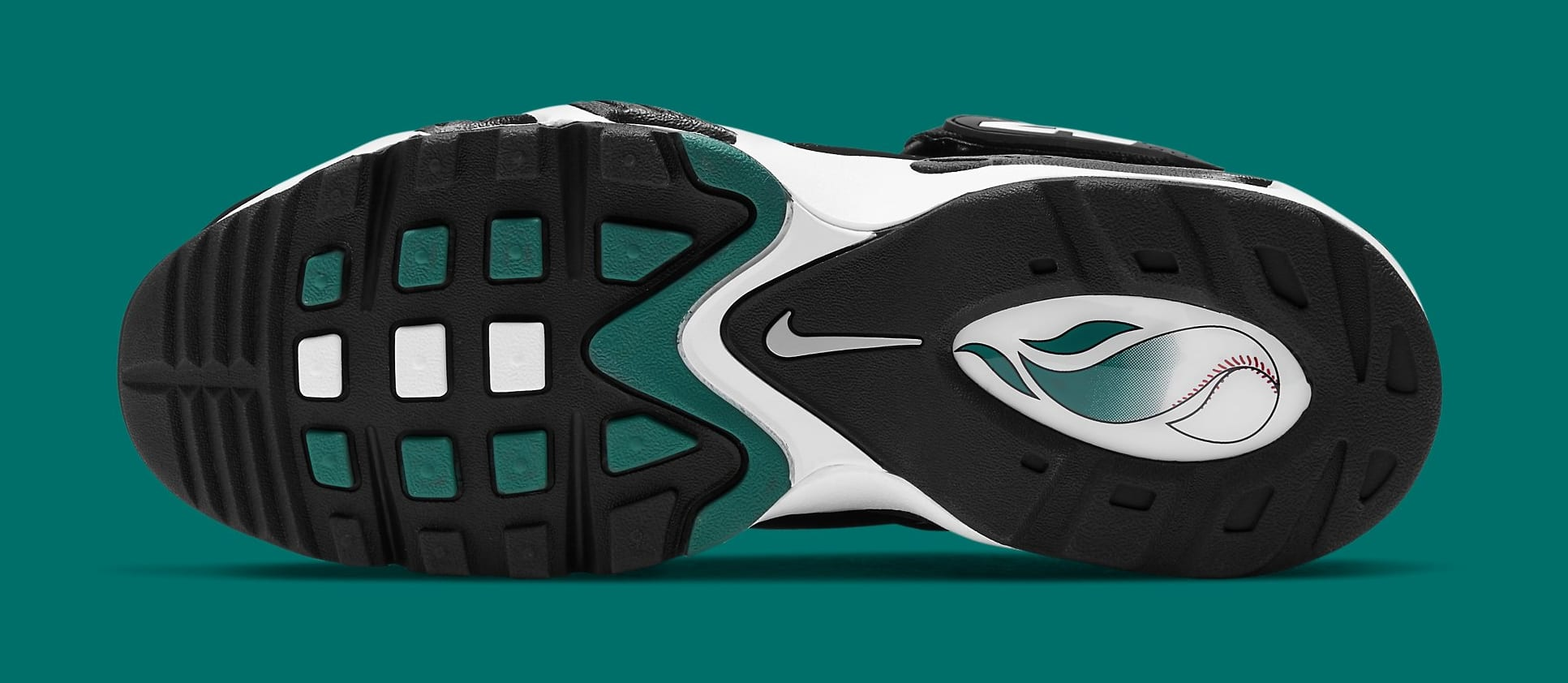 Nike Air Griffey Max 1 'Freshwater' 2021 DD8558-100 Outsole