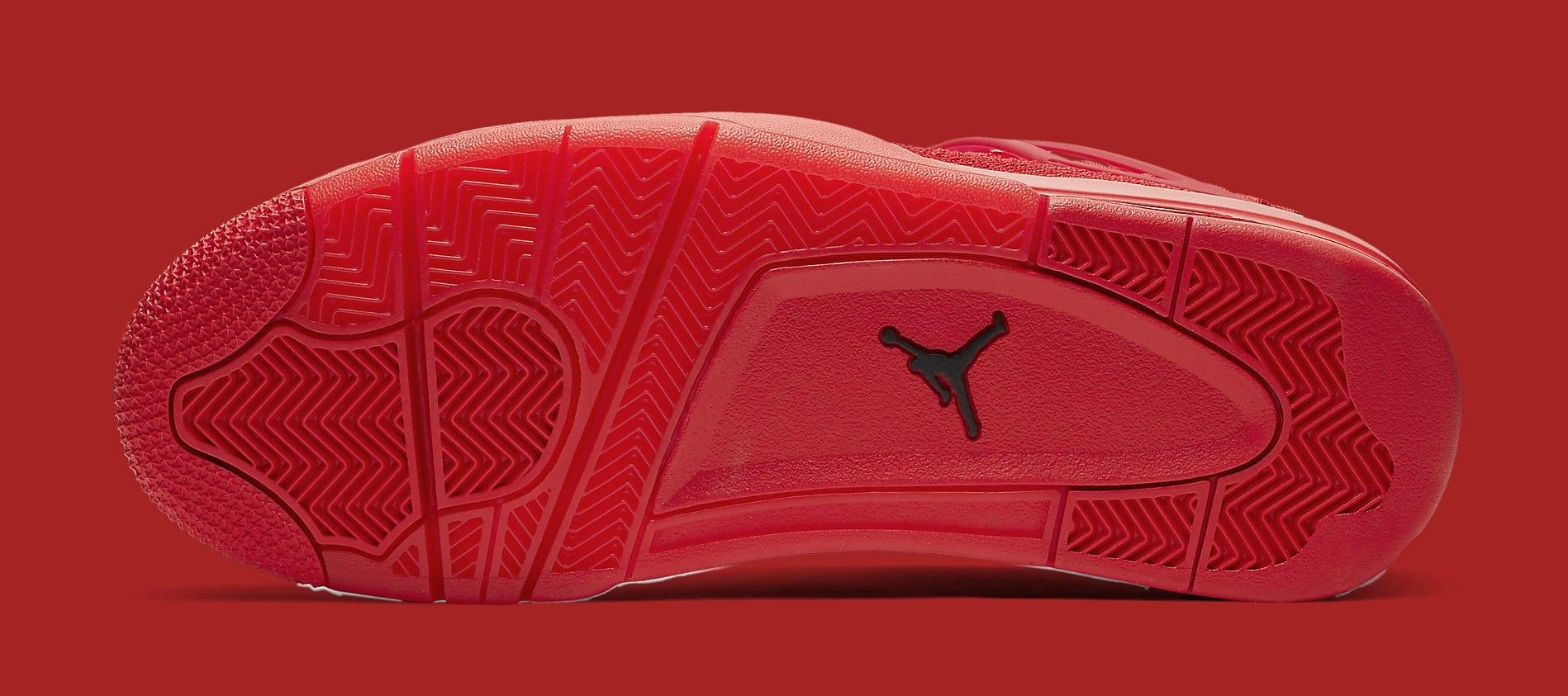 Air Jordan 4 Flyknit 'University Red' AQ3559-600 Sole