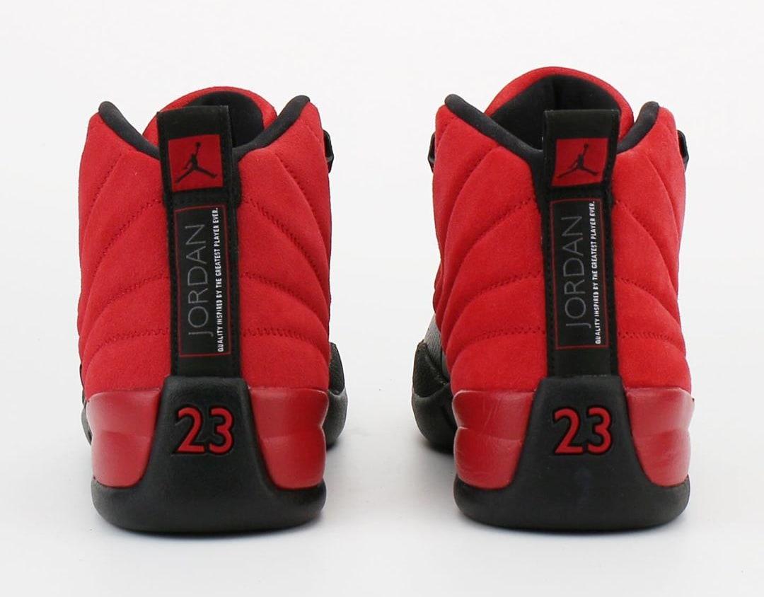 Air Jordan 12 Retro 'Reverse Flu Game' CT8013-602 Heel