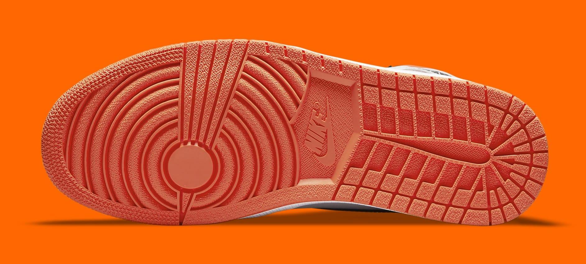 Air Jordan 1 Retro High OG 'Electro Orange' 555088-180 Outsole