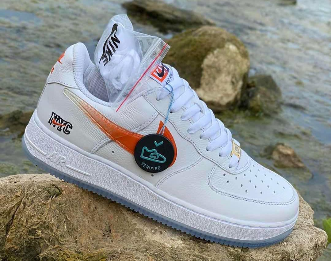 Kith x Nike Air Force 1 Low 'NYC' CZ7928-100 Side