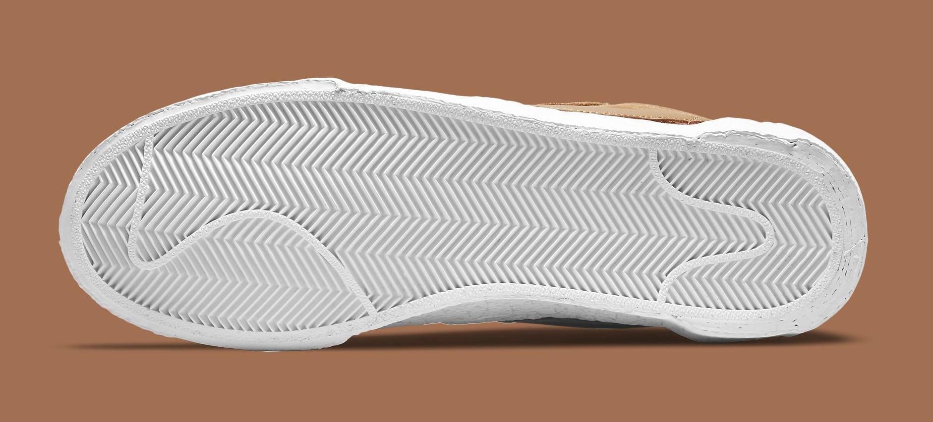 Sacai x Nike Blazer Low 'British Tan' DD1877-200 Outsole