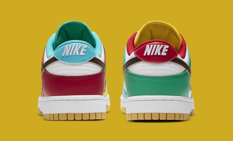 Nike Dunk Low 'Free.99 White' DH0952-100 Heel