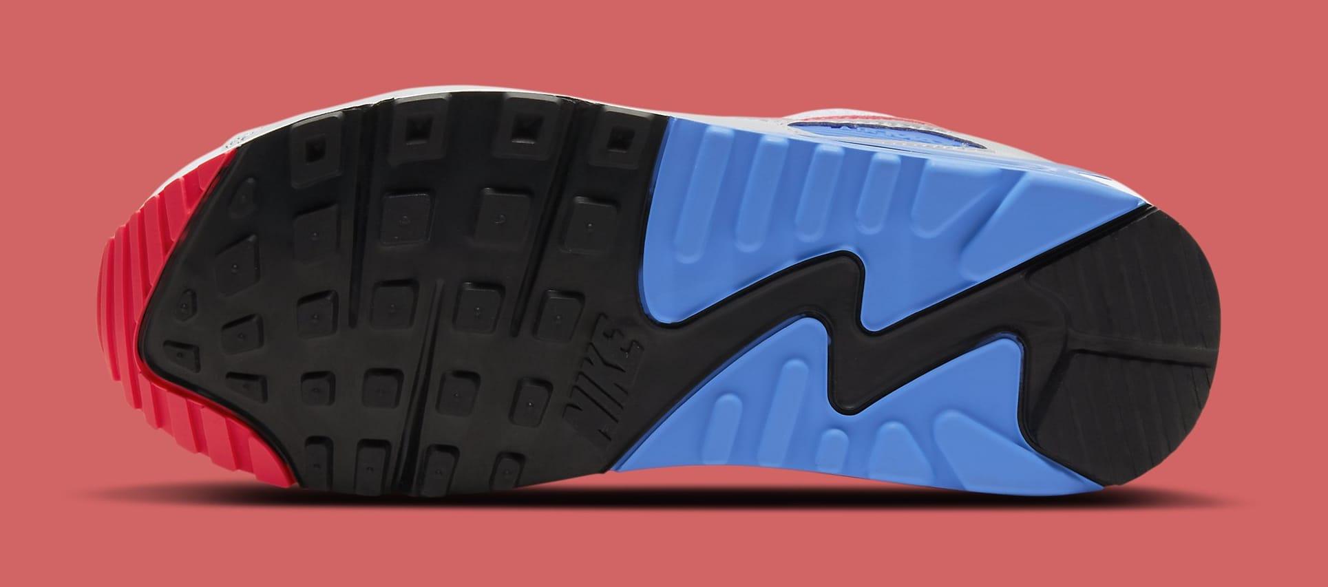 Nike Air Max 90 'Hot Coral' DA8856-100 (Outsole)