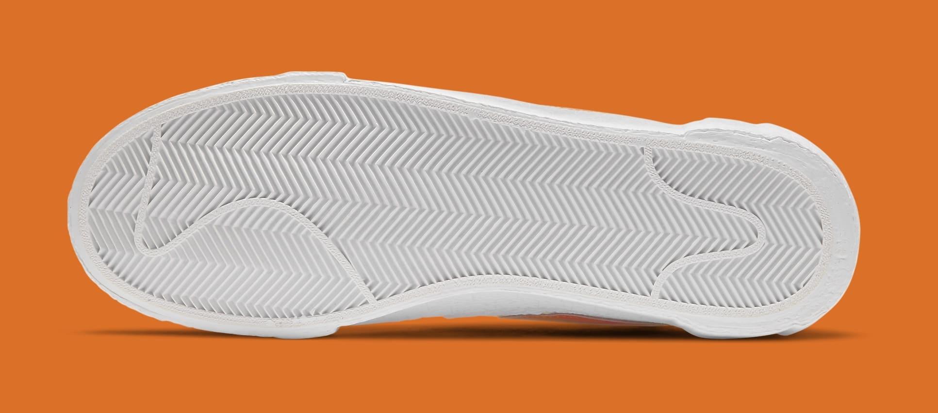 Sacai x Nike Blazer Low 'Magma Orange' DD1877-100 Outsole