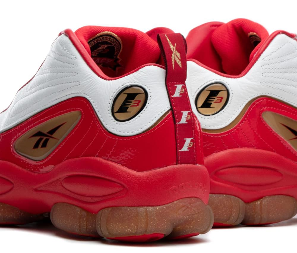 Reebok Iverson Legacy 'Red/White/Black/Bras' CN8406 (Detail)