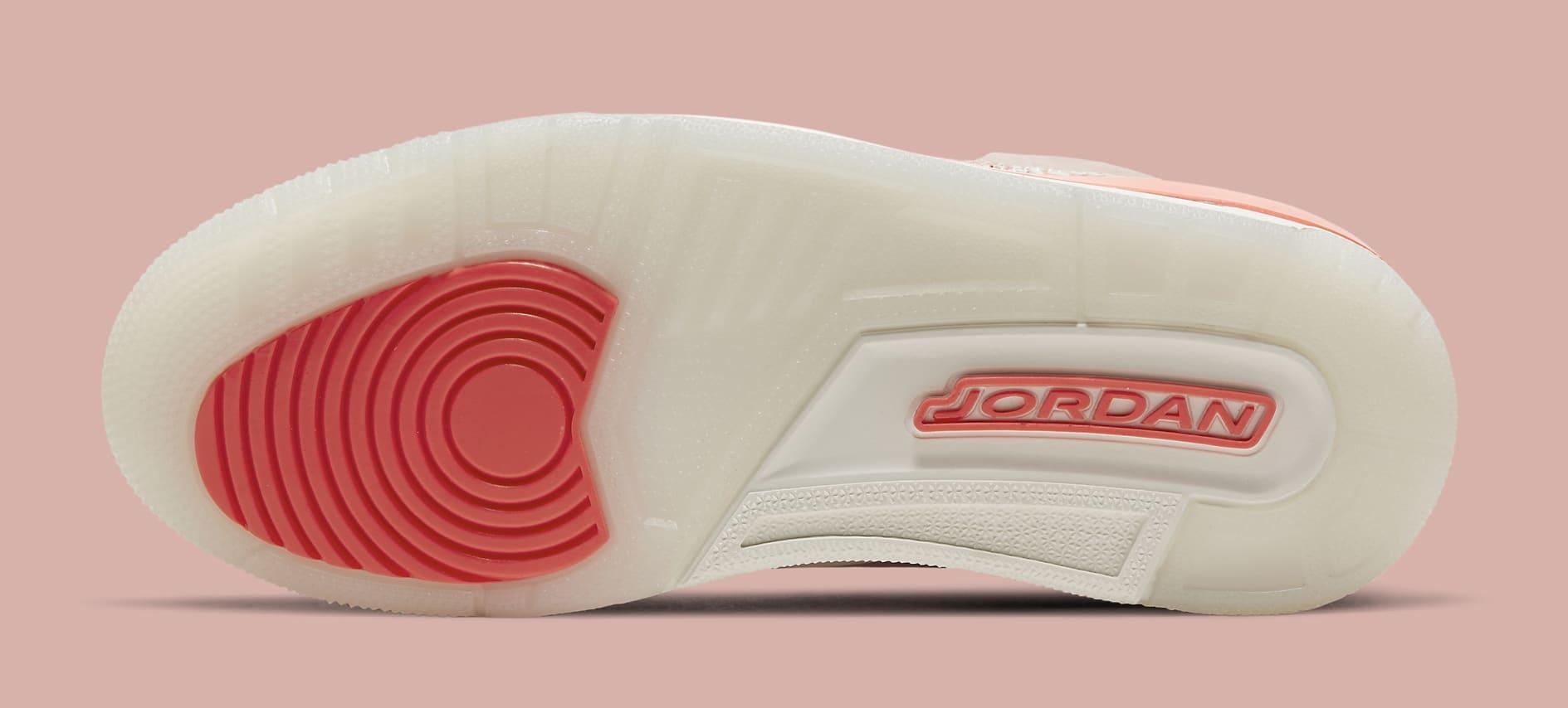 Air Jordan 3 Retro Women's 'Rust Pink' CK9246-600 Outsole
