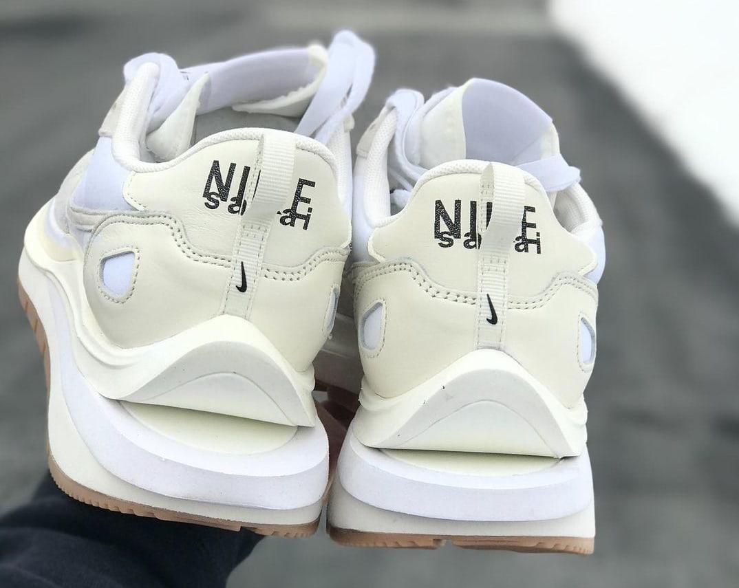 Sacai x Nike VaporWaffle 'Cream' Heel