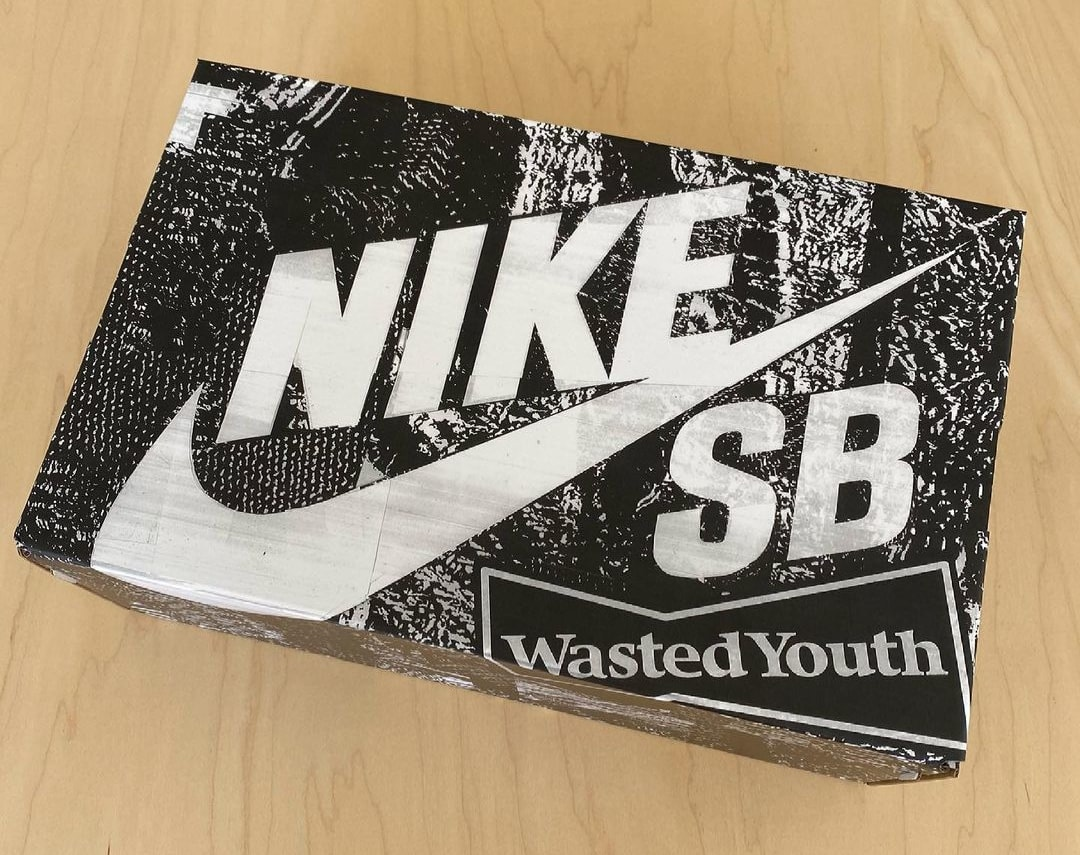 Wasted Youth x Nike SB Dunk Low Box