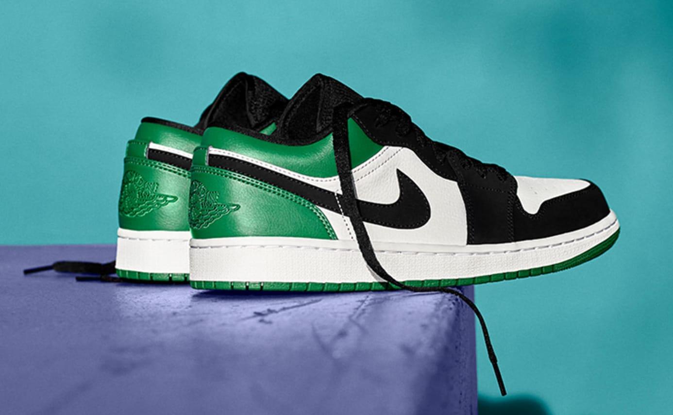 Air Jordan 1 Low Mystic Green 553558-113