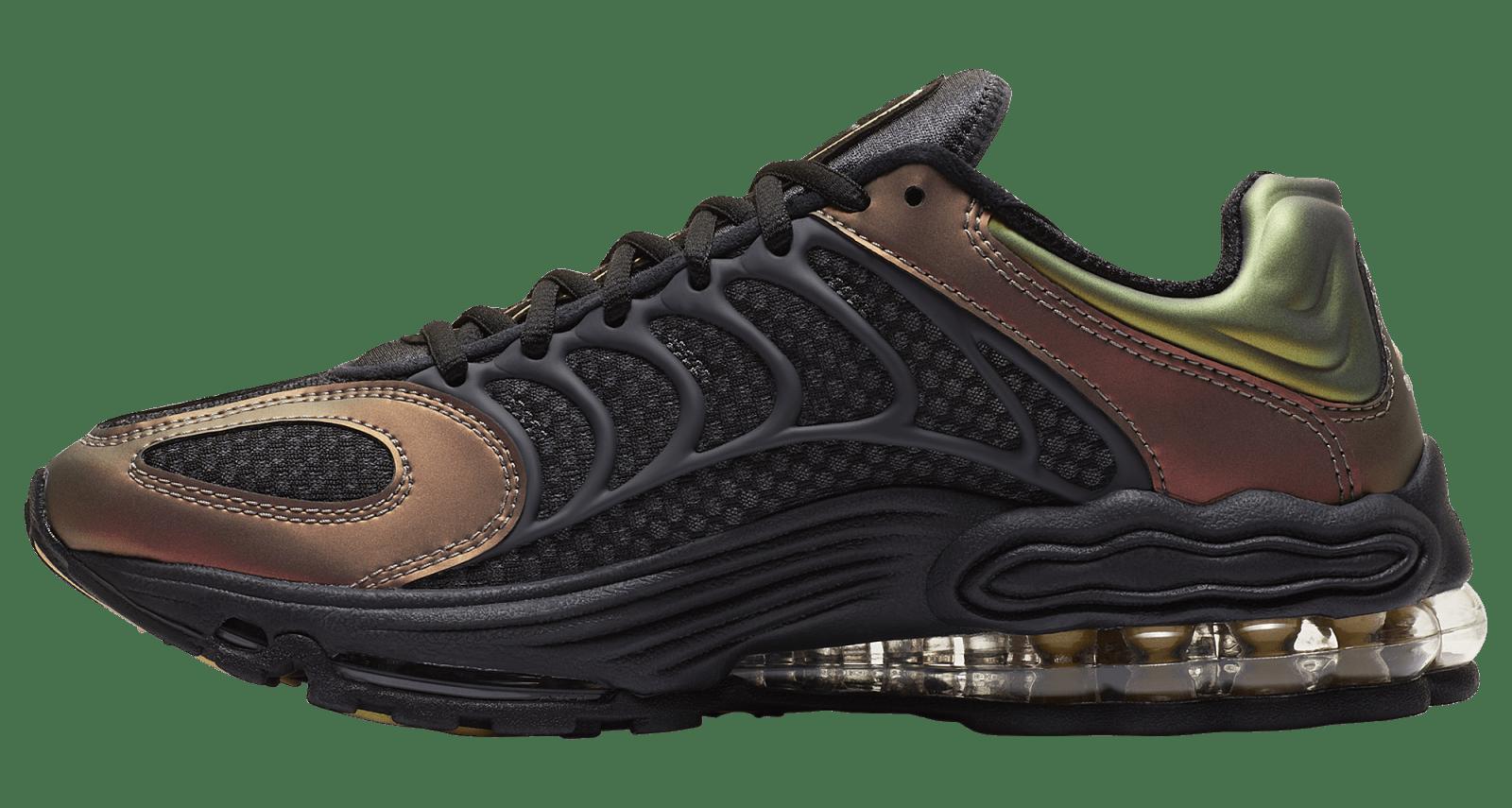 Nike Air Tuned Max Dark Charcoal/Celery/Saturn Red CV6984-001 Medial