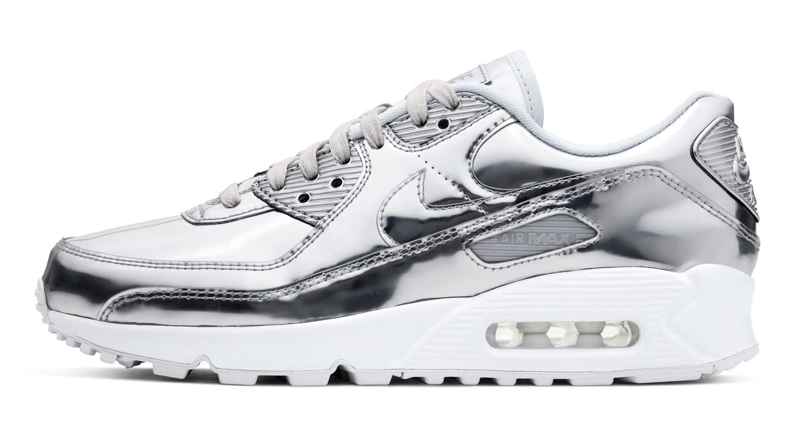 Nike Air Max 90 Silver 'Metallic Pack'