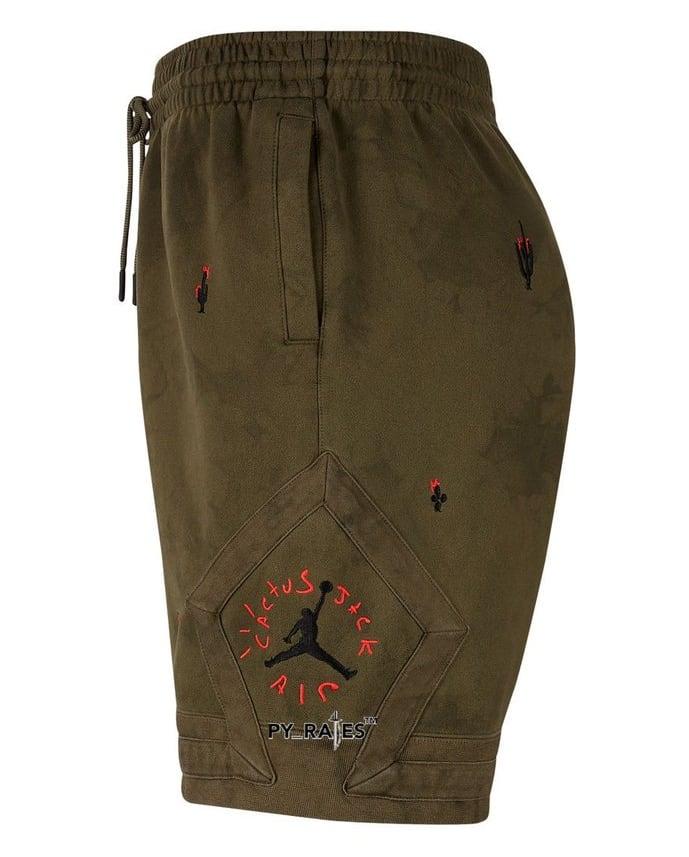 Travis Scott Merchandise Shorts Side