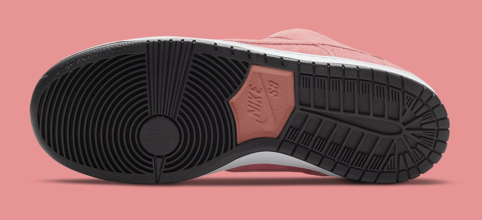 Nike SB Dunk Low 'Pink Pig' CV1655-600 Outsole