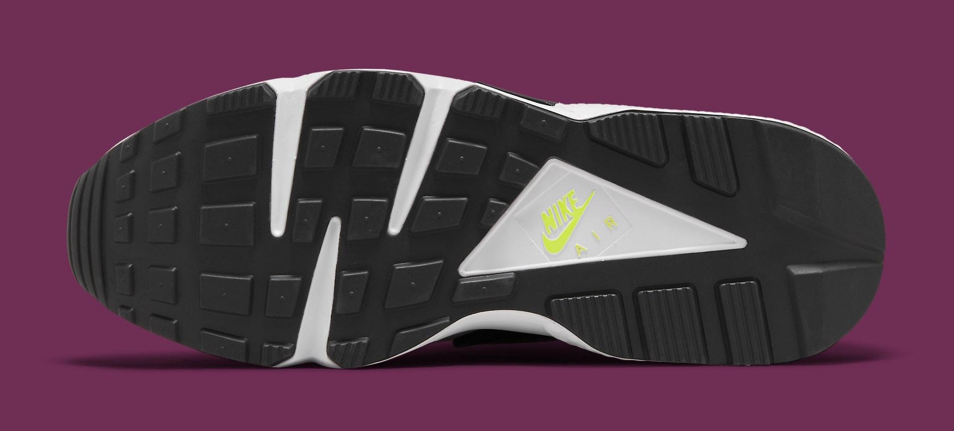 Nike Air Huarache Neon Yellow/Magenta DD1068-104 Outsole