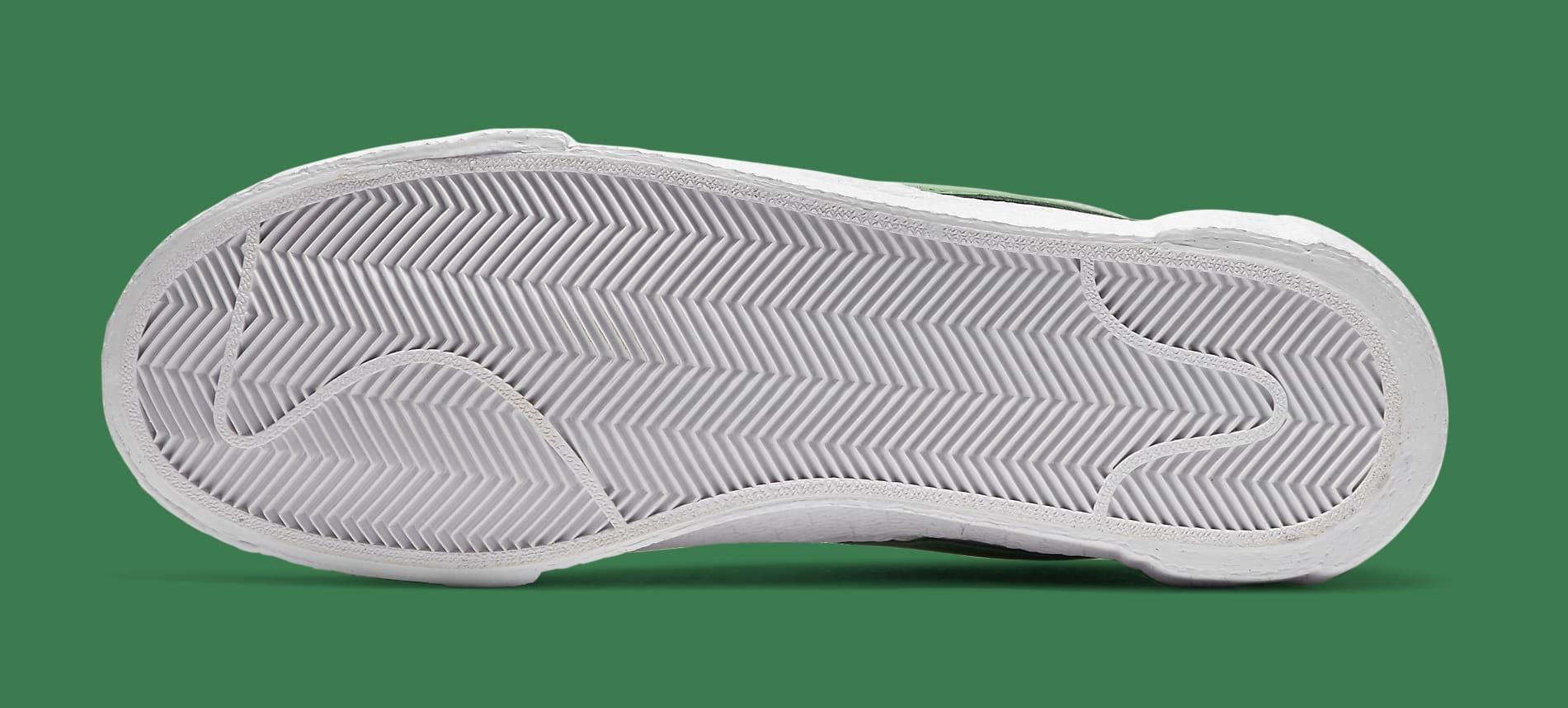 Sacai x Nike Blazer Low 'Classic Green' DD1877-001 Outsole