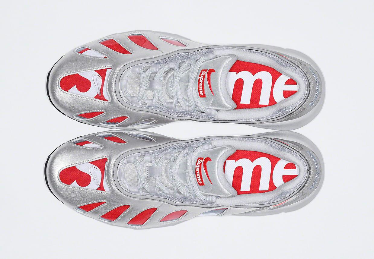 Supreme x Nike Air Max 96 'Silver' Top
