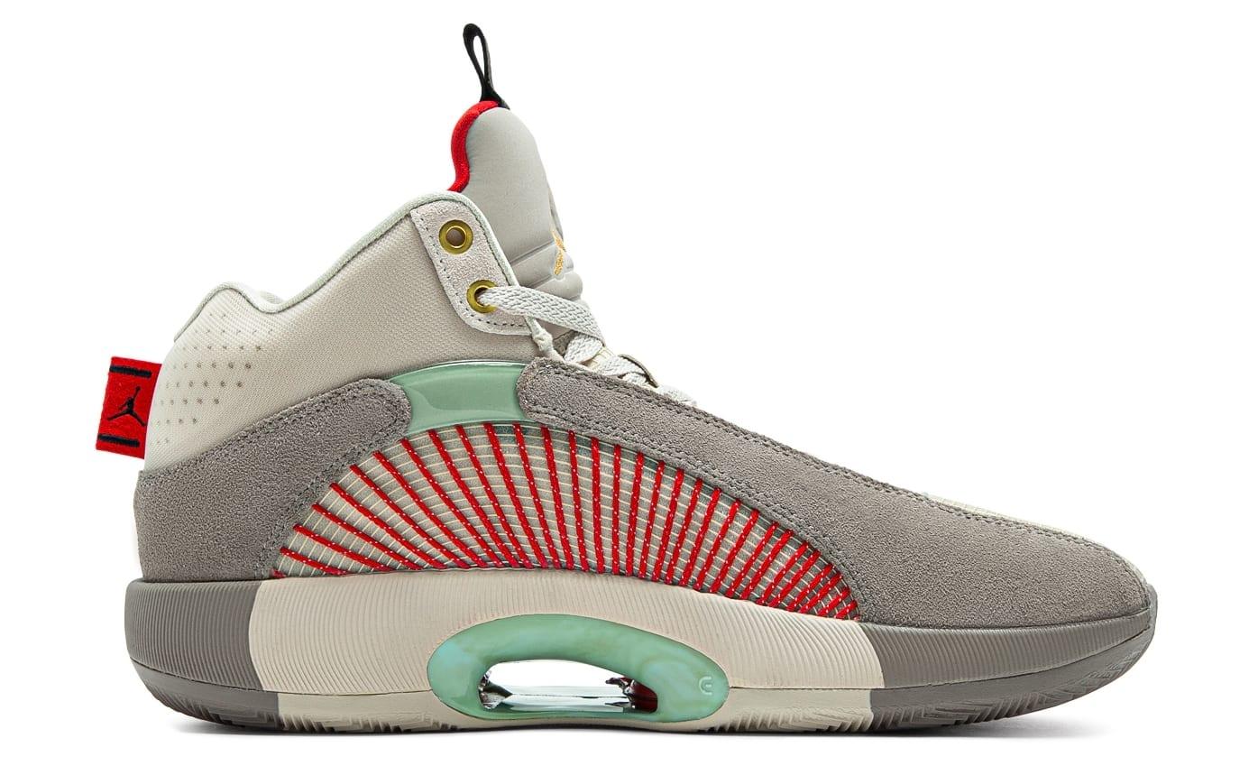 CLOT x Air Jordan 35 XXXV Release Date DD9322-200 Medial