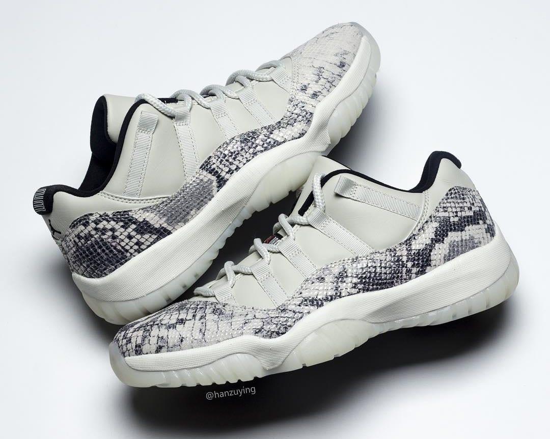 sneakers for cheap 962c4 ba9e7 Air Jordan 11 Low SE 'Snakeskin' Release Date CD6846-002 ...