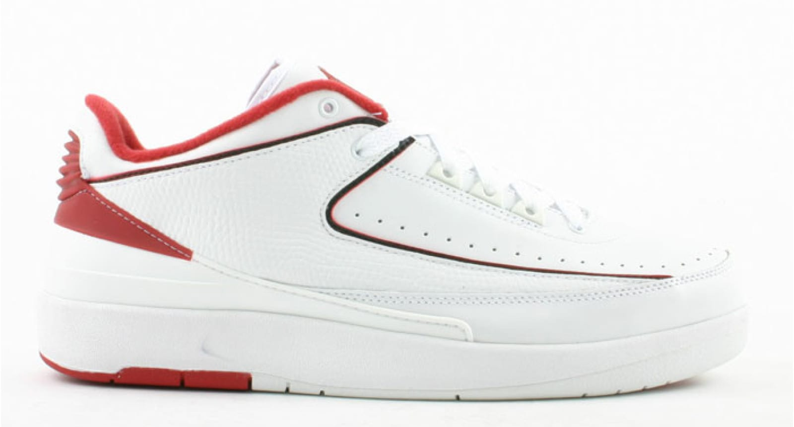 Air Jordan 2 Low 'White/Red'