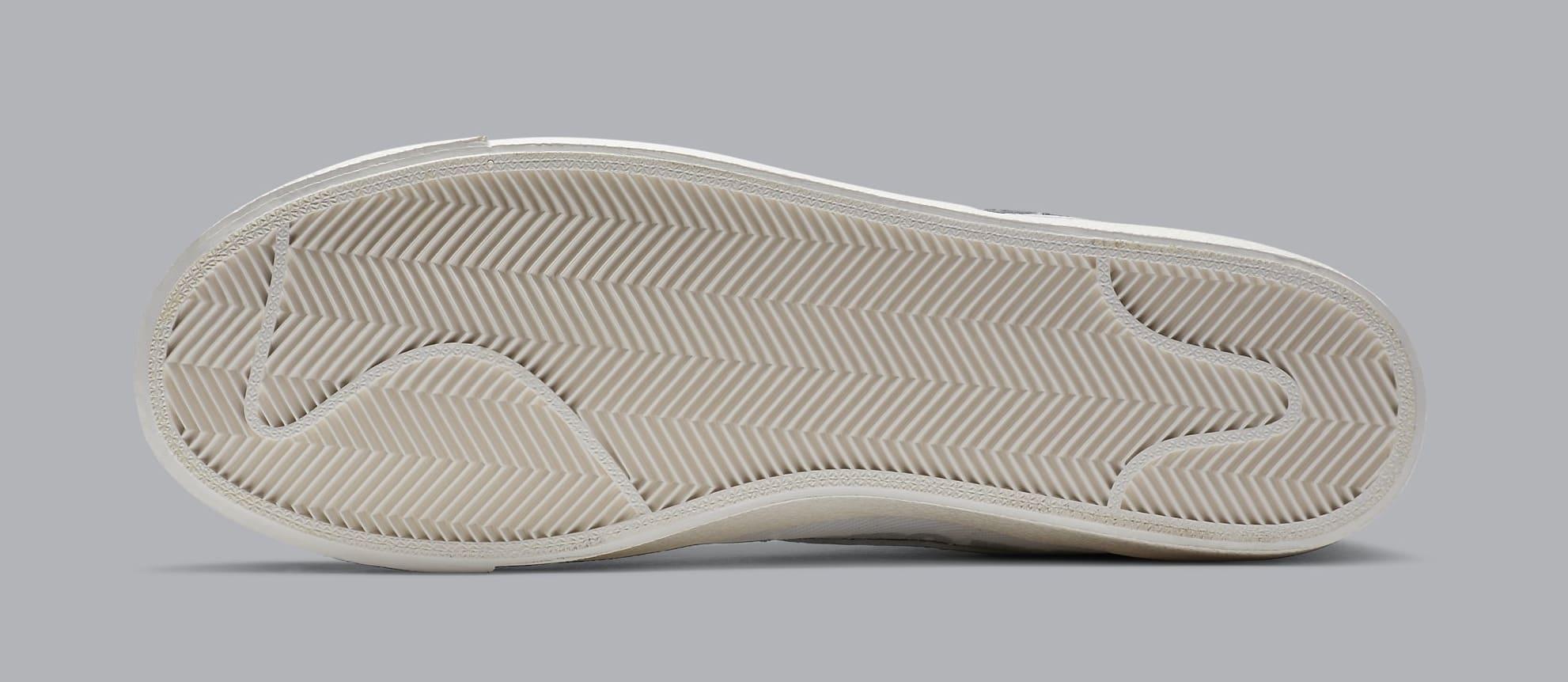 Comme des Garcons x Naomi Osaka x Nike Blazer Mid DA5383-100 Outsole