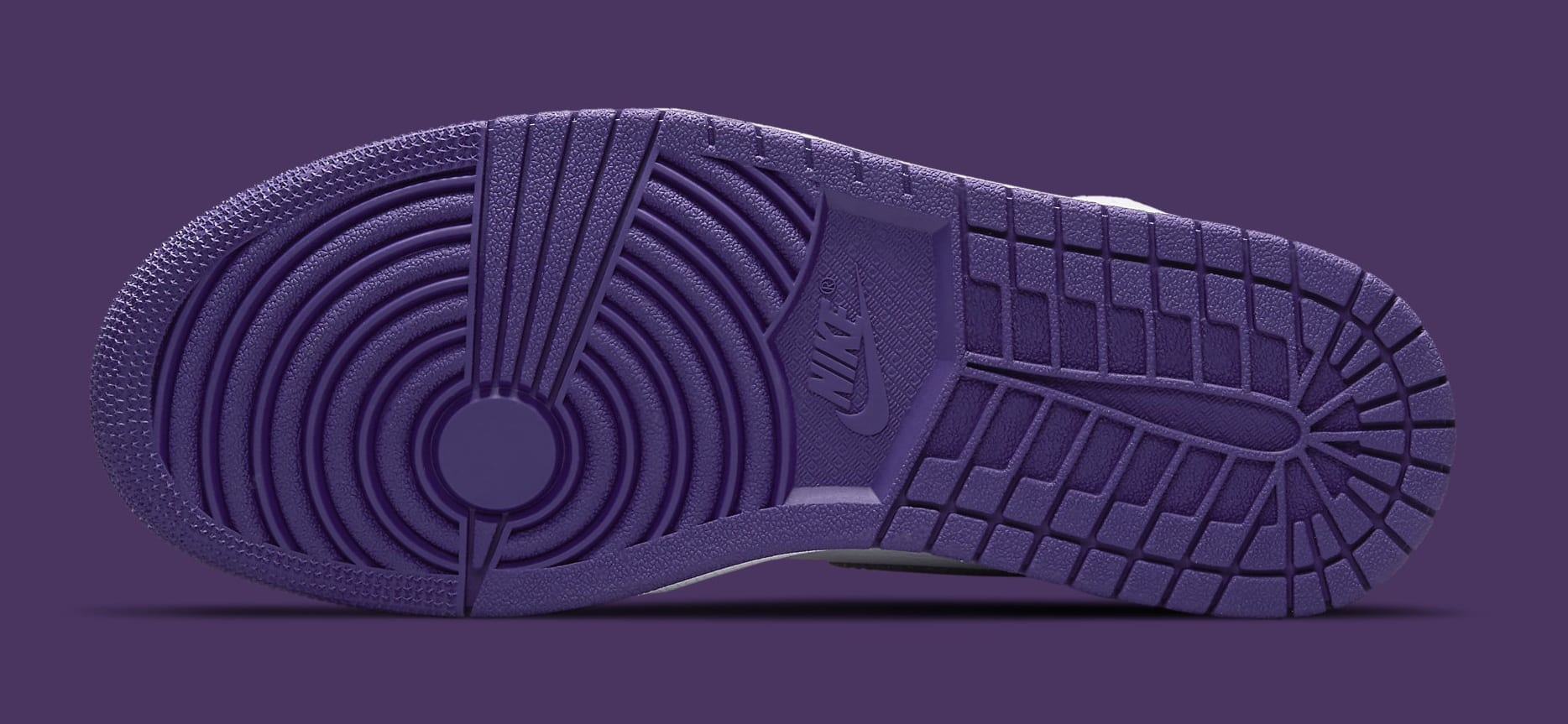 Air Jordan 1 Retro High OG Women's 'Court Purple' CD0461-151 Outsole