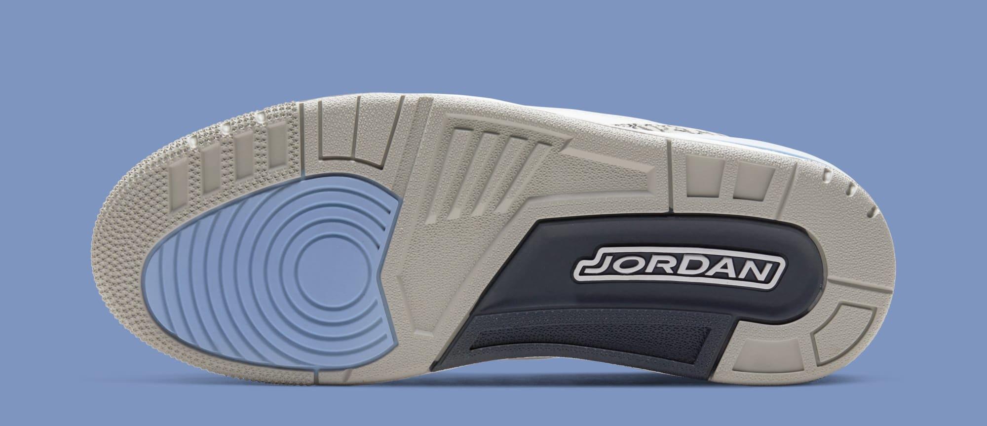 Air Jordan 3 'UNC' CT8532-104 (Sole)