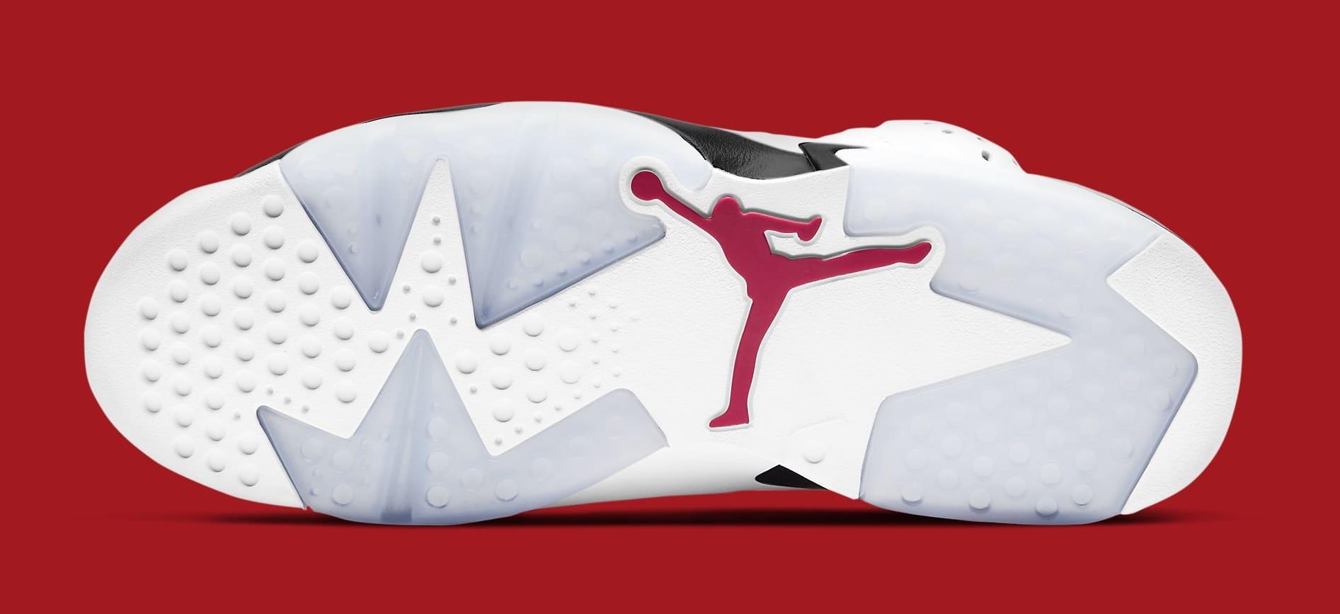 Air Jordan 6 Retro 'Carmine' 2021 CT8529-106 Outsole