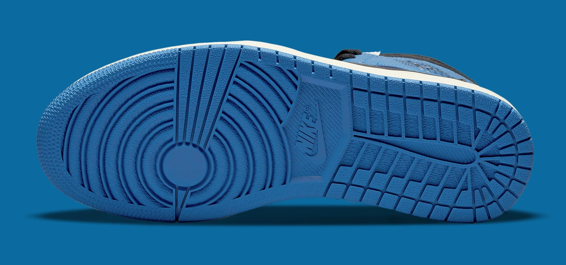Fragment x Travis Scott x Air Jordan 1 High DH3227-105 Outsole