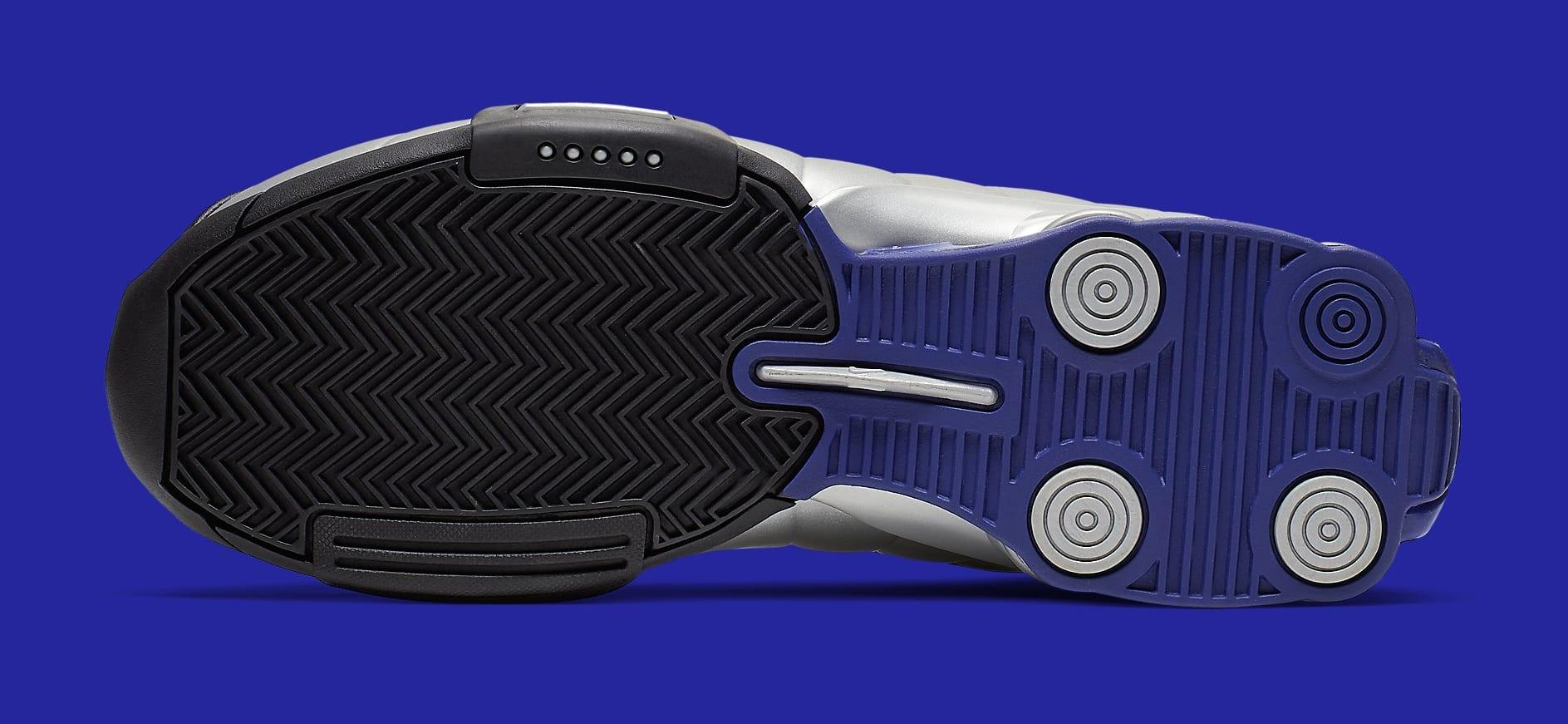 Nike Shox BB4 OG 'Metallic Silver' AT7843-001 Sole
