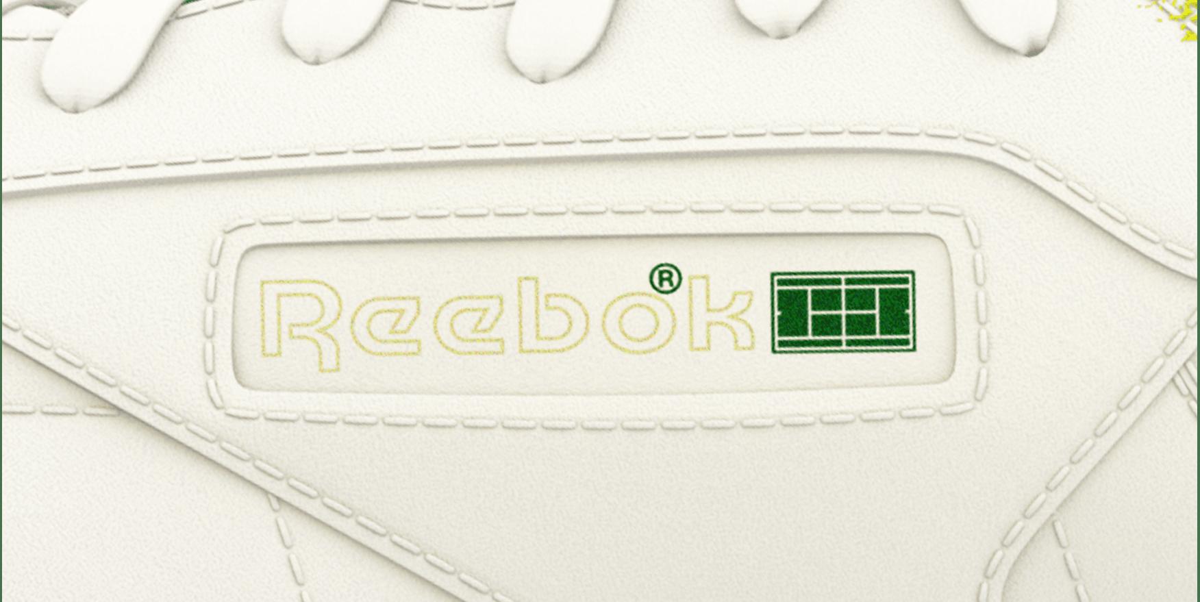 Reebok Club C 'Open Membership' First Pitch Logo
