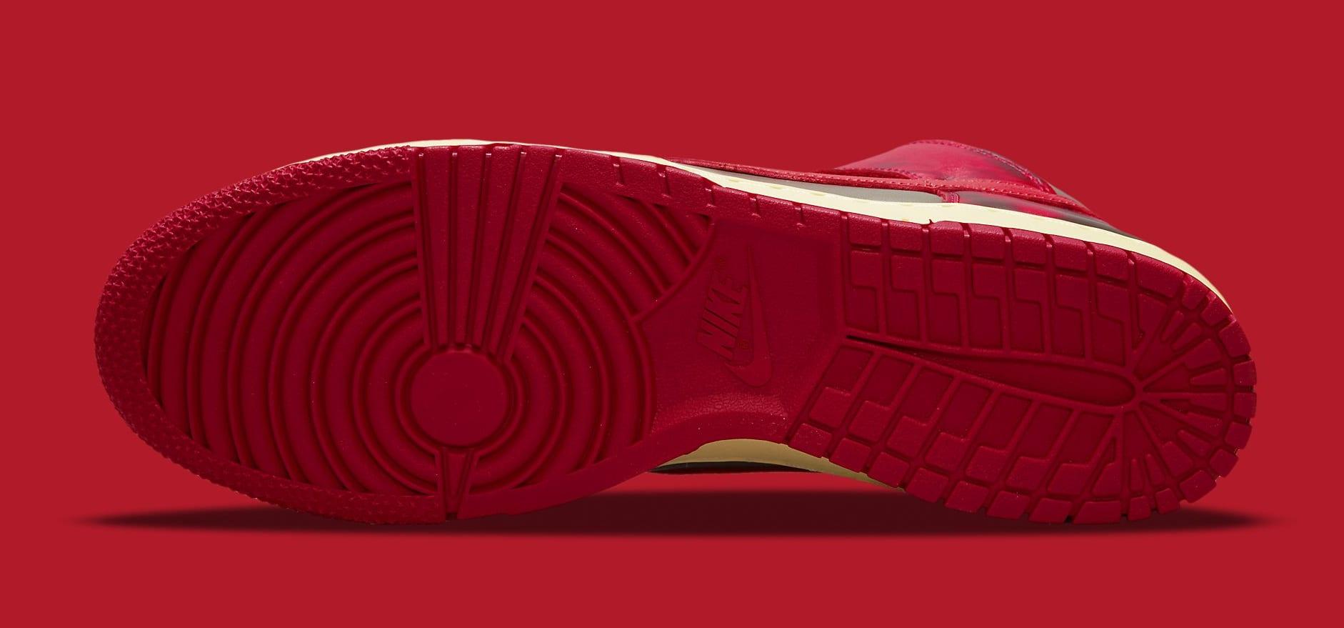 Nike Dunk High 'Acid Wash' DD9404-600 Outsole