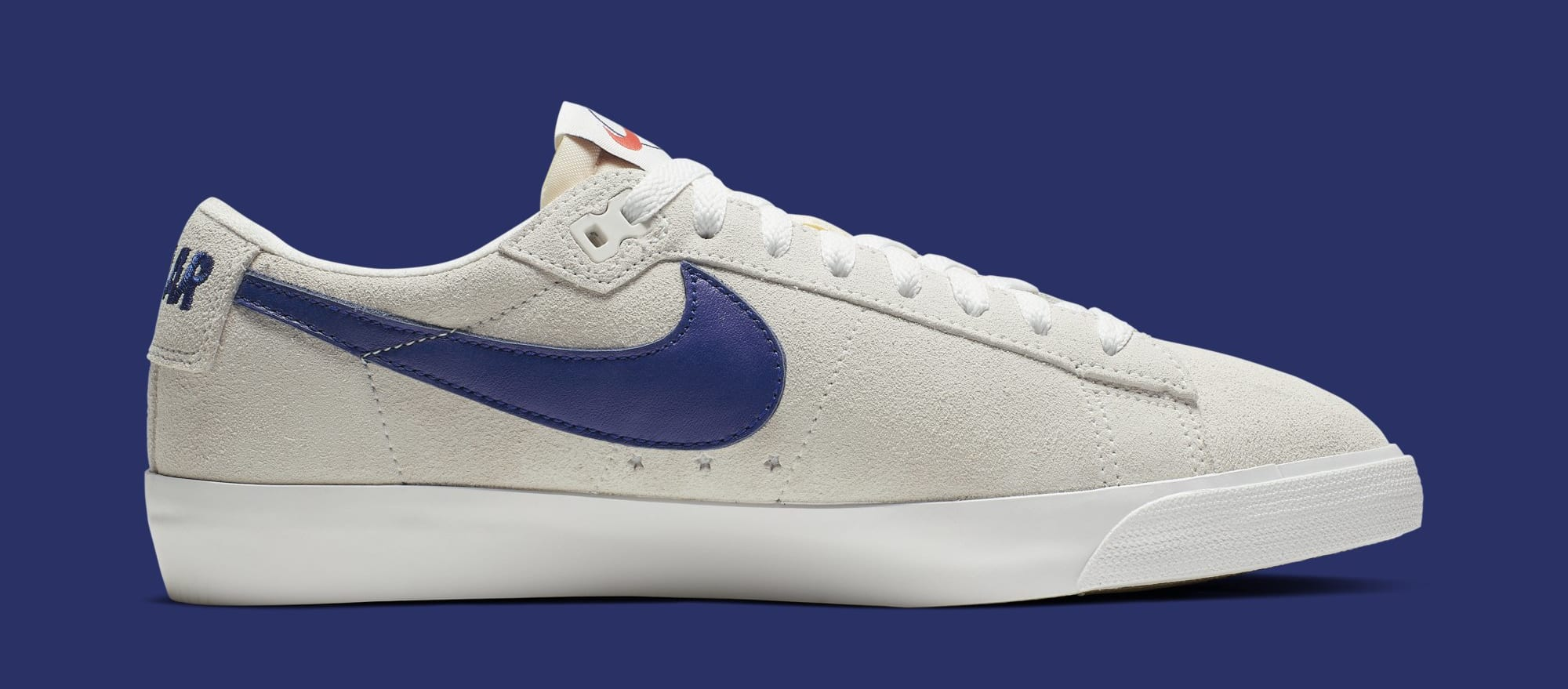 Polar Skate Co. x Nike SB Blazer Low AV3028-100 (Medial)