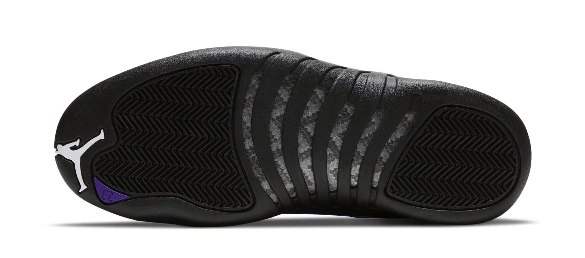 Air Jordan 12 Retro 'Black/Black/Dark Concord' CT8013-005 (Sole)